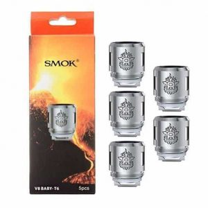 Smok Coils Pack Of Five Baby Coils Vape Supplies UK